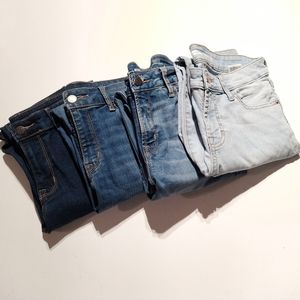4/$40 Old Navy Skinny Jeans • Various Shades • 04
